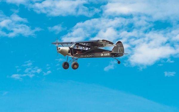 Pilotem na zkoušku - letadlo Shock, cca 30 min, počet osob: 1 osoba, Praha (Praha)3