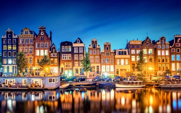 Adventní Amsterdam | 3denní zájezd na vánoční trhy a festival světel do Nizozemí