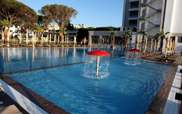 Hotel Grint, Dürres, letecky, all inclusive2