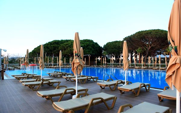 Hotel Grint, Dürres, letecky, all inclusive3
