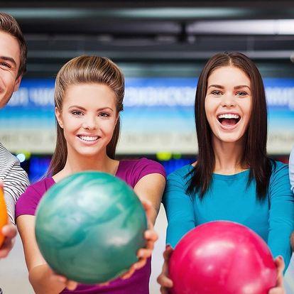 Bowling na 1 nebo 2 hodiny až pro 6 osob