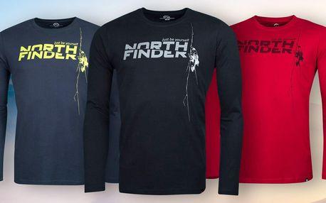 Pánská trička Northfinder ze 100% bavlny: 4 barvy
