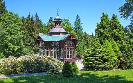Jeseníky u Karlovy Studánky v Penzionu Stonožka s polopenzí a wellness + dítě do 12 let