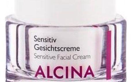 ALCINA Sensitive Facial Cream 50 ml zklidňující krém pro citlivu pleť pro ženy