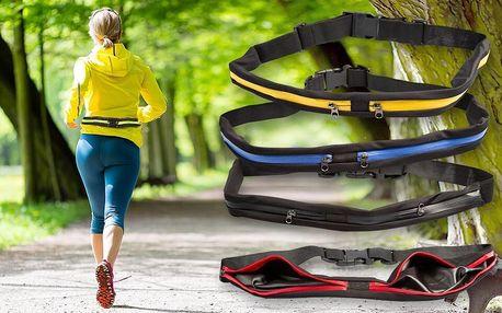 Sportovní pouzdro na mobil a cennosti kolem pasu