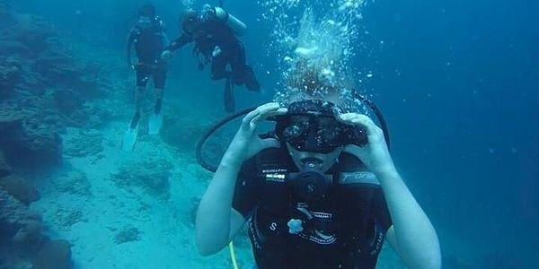 Poznávací ponor pro začátečníky na jezeře Barbora2