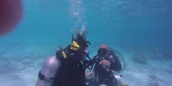 Poznávací ponor pro začátečníky na jezeře Barbora4