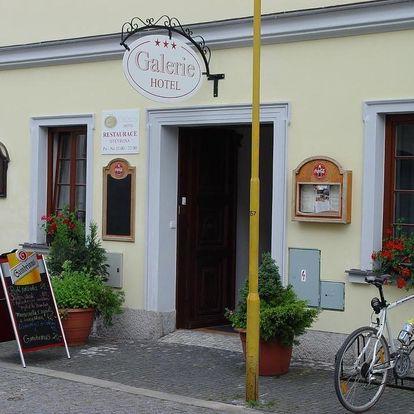Třeboň, Jihočeský kraj: Hotel Galerie