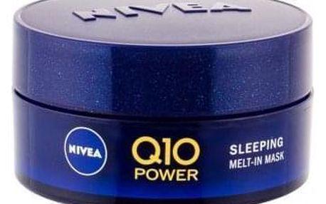 Nivea Q10 Power Sleeping Melt-In Mask 50 ml noční pleťová maska s koenzymem q10 pro ženy