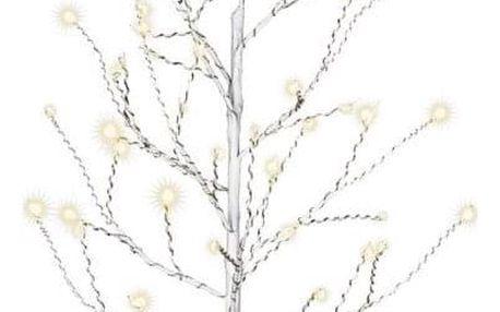Nexos 64261 Dekorativní LED světelný strom s 48 LED, 60 cm - bílý