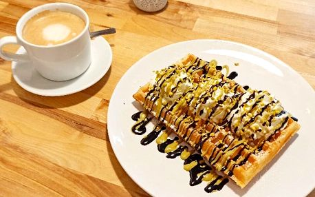 Dárkové poukazy na 300 i 500 Kč do bistra Wafflove