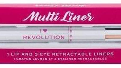 Makeup Revolution London I Heart Revolution Multi Liner 0,1 g čtyřbarevná tužka na oči a rty pro ženy