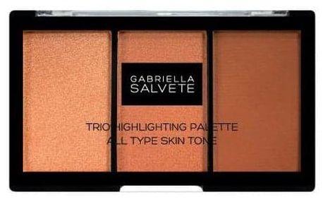 Gabriella Salvete Trio Highlighting Palette 15 g paletka rozjasňovačů pro ženy