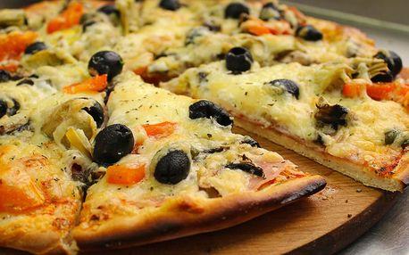 Jedna nebo dvě pizzy podle výběru i s rozvozem
