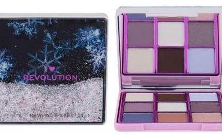 Makeup Revolution London I Heart Revolution Snow Globe 13,5 g paletka očních stínů pro ženy Snowflake
