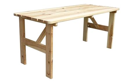Tradgard VIKING 35289 Dřevěný stůl - 200CM