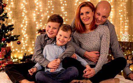 Vánoční focení pro rodiny, páry i těhotné