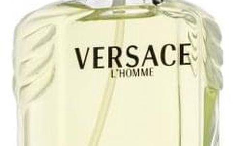 Versace L´Homme 100 ml toaletní voda tester pro muže