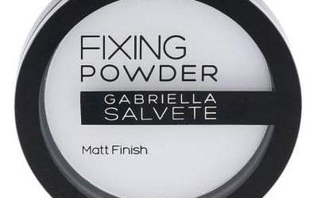 Gabriella Salvete Fixing Powder 9 g fixační pudr pro ženy Transparent