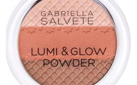 Gabriella Salvete Lumi & Glow 9 g rozjasňující pudr pro ženy 01
