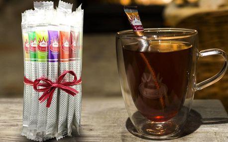 Sypané čaje Royal T-Stick: mix chutí v balení