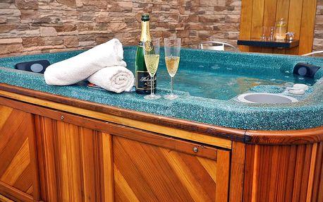 Romantika pro dva: privátní sauna, vířivka i sekt