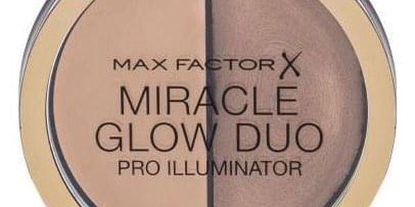 Max Factor Miracle Glow 11 g rozjasňovač se dvěma odstíny pro ženy 20 Medium