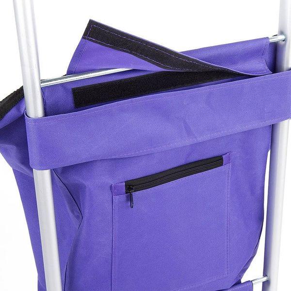 Aldo Nákupní taška na kolečkách Nice, fialová2