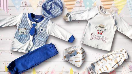 Až 9dílné sety bavlněného oblečení pro miminka