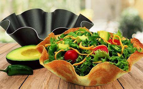 4 formy na tortilly: misky, které můžete sníst