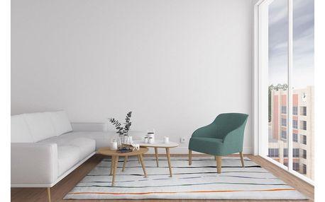 Domarex Kobereček z paměťové pěny Evita, světle šedá, 120 x 160 cm