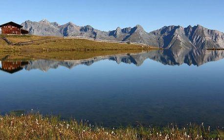Penzion v Tyrolských Alpách s jídlem i wellness