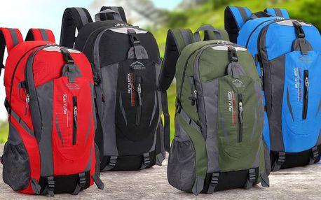 Sportovní batohy o objemu 25 l ve 4 barvách