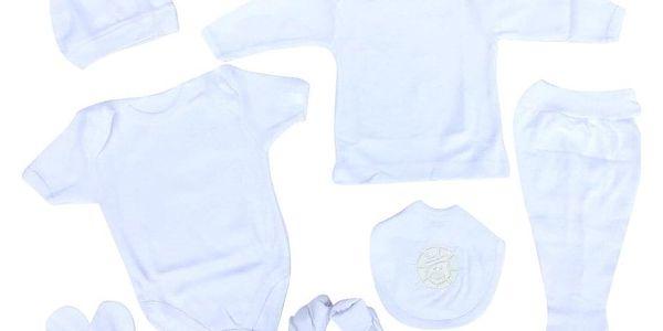 2dílný set pro miminka | Velikost: 3 měsíce | Žlutá4