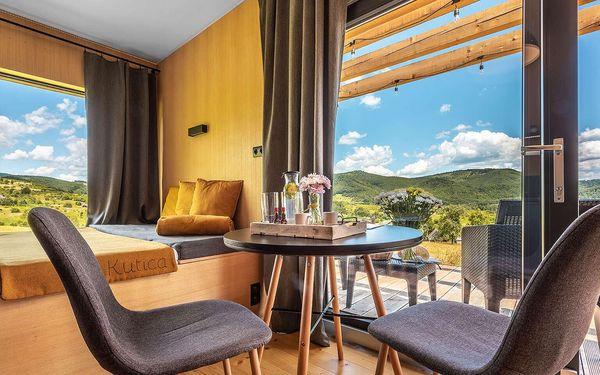 Zážitkové ubytování na samotě s panoramatickým výhledem