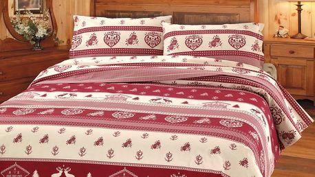 Gipetex Natural Dream Italské povlečení 100% bavlna LUX Tirolo
