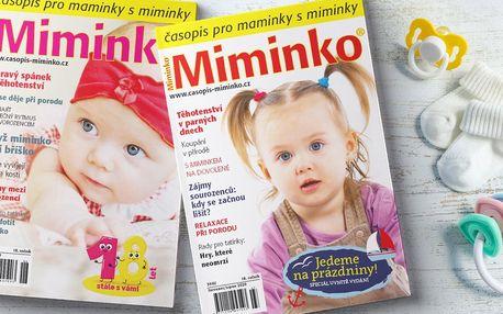 Roční předplatné časopisu Miminko včetně dárku