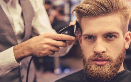 Péče pro pány: střih, úprava vousů i all inclusive