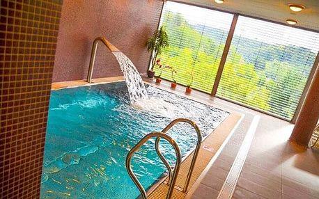 Orlické hory s úchvatným výhledem v Hotelu Rajská zahrada **** s wellness, koupelí, welcome drinkem a snídaní