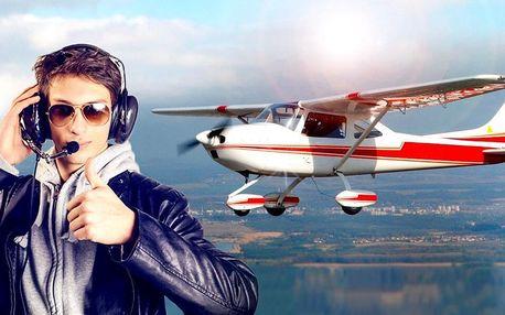 Vzhůru do oblak: 30-60 minut pilotem na zkoušku