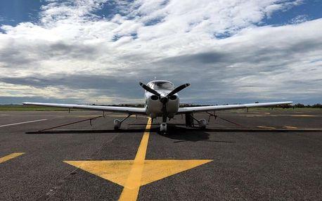 Vyhlídkový let nad Pálavou v délce 45 minut