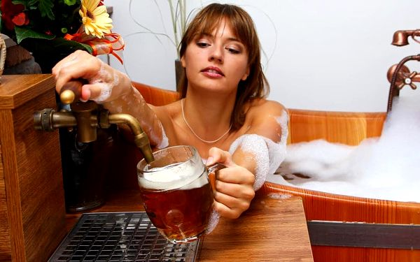 Relaxace v pivních lázních pro 2 osoby3