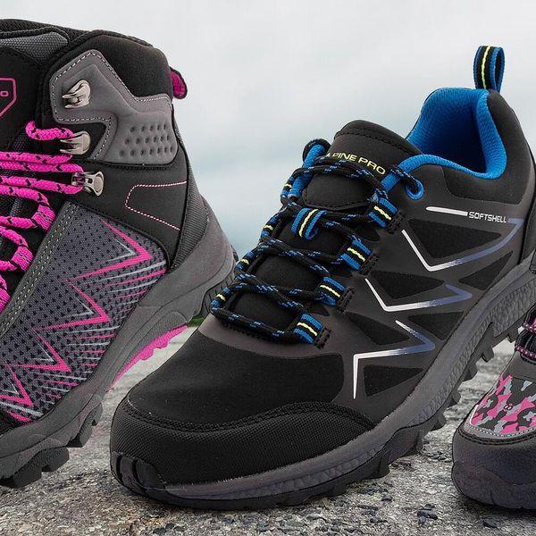 Dětská, dámská i pánská outdoorová obuv Alpine Pro