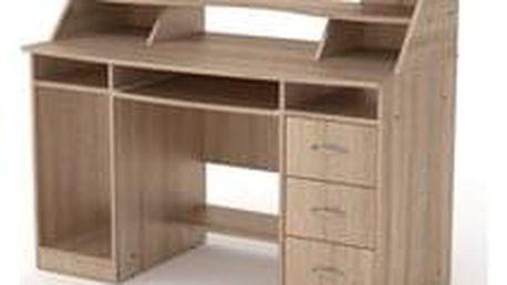 PC stůl KOMFORT-5 buk