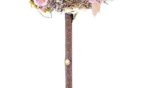 Umělá květina v květináči Leerdam, 28 cm
