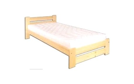 Dřevěná postel 100x200 LK146 gray