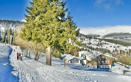 Krkonoše: Aktivní dovolená v Peci pod Sněžkou v Chatě Seibert Zahrádky s chutnou polopenzí + sleva na lanovku