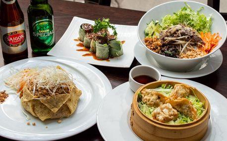 Voucher až na 500 Kč na asijská jídla v centru