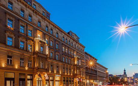 Luxus na nejvyšší úrovni: 5* hotel v centru Prahy se snídaní - dlouhá platnost poukazu