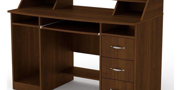 PC stůl KOMFORT-5 buk2
